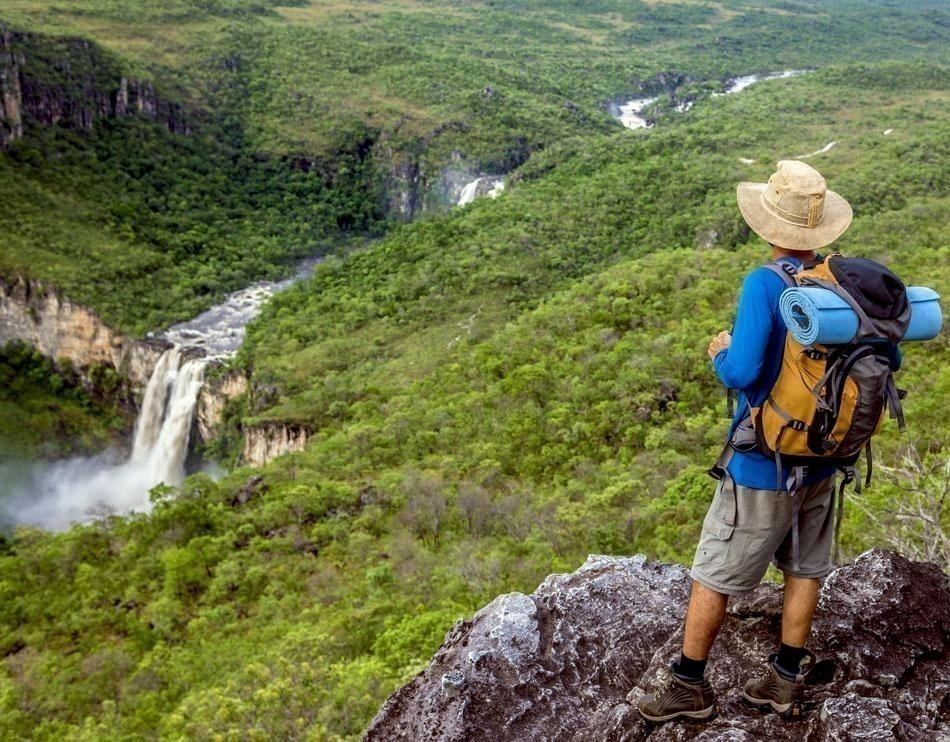 Waterfall in Chapada dos Veadeiros National Park | Brazil Travel Guide