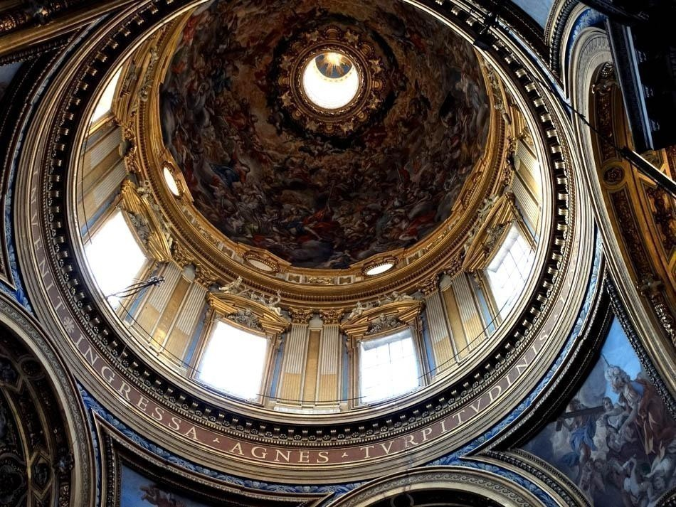 Sant`Agnese in Angone, Piazza Navona, Rome | What to do in a rainy day in Rome - the Eternal City