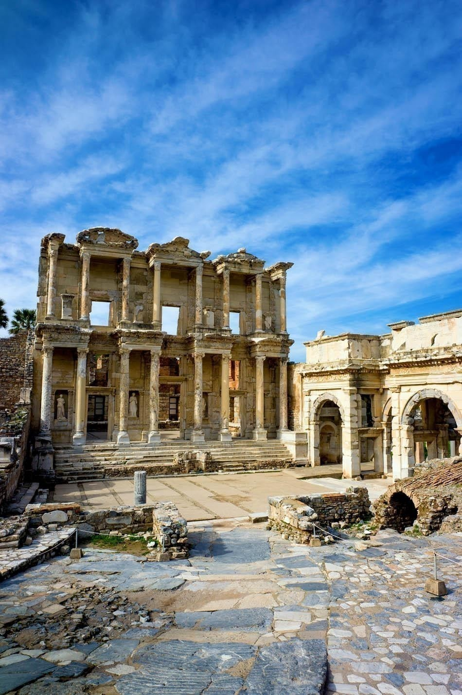 Library of Celsus in Ephesus ancient city, UNESCO world heritage site in Selcuk, Turkey | Turkey Travel Guide
