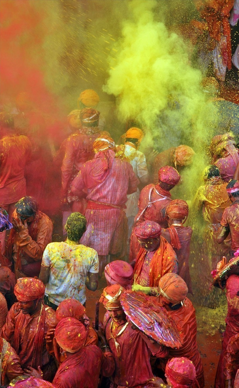 Holi is the most celebrated religious festival in India. | Your Complete Travel Guide to India