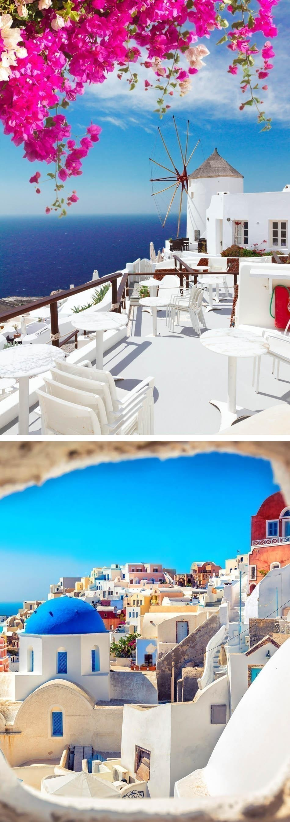 Beautiful Santorini, Greece | Top 10 most beautiful islands in the world