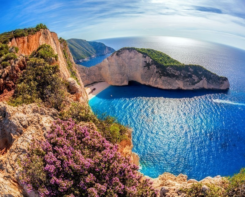 Zakynthos, or Zante, is among the most beautiful and popular islands of the Ionian Sea.