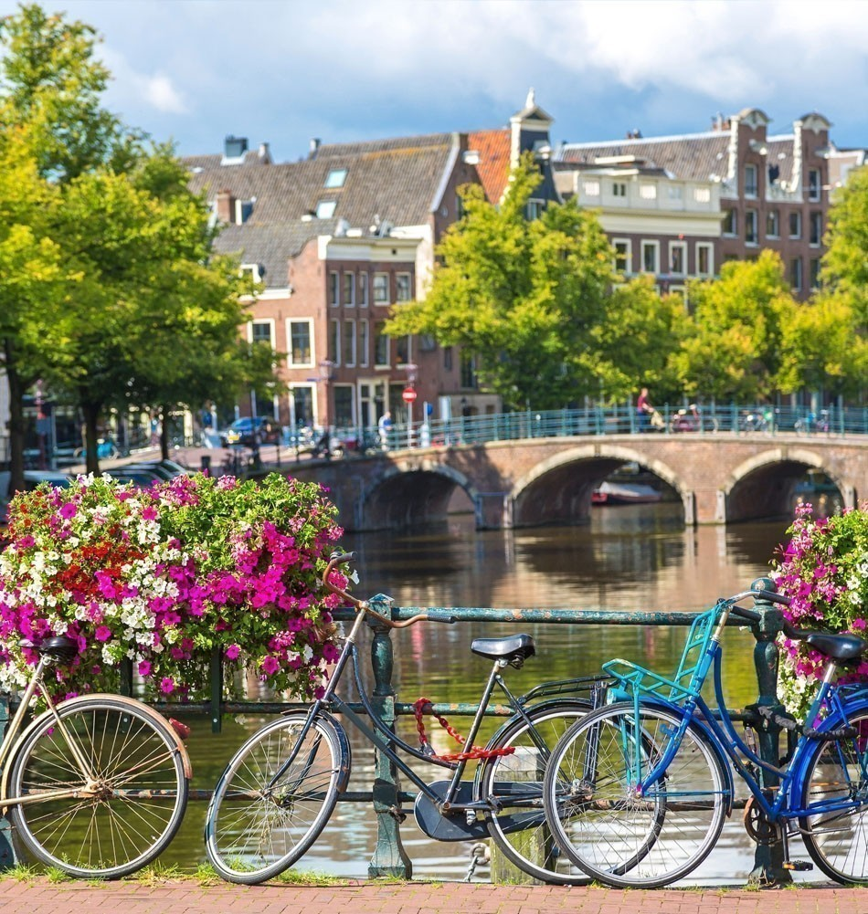 Romantic View of Amsterdam, the Netherlands | TOP 10 Most Romantic European Cities You Must Visit