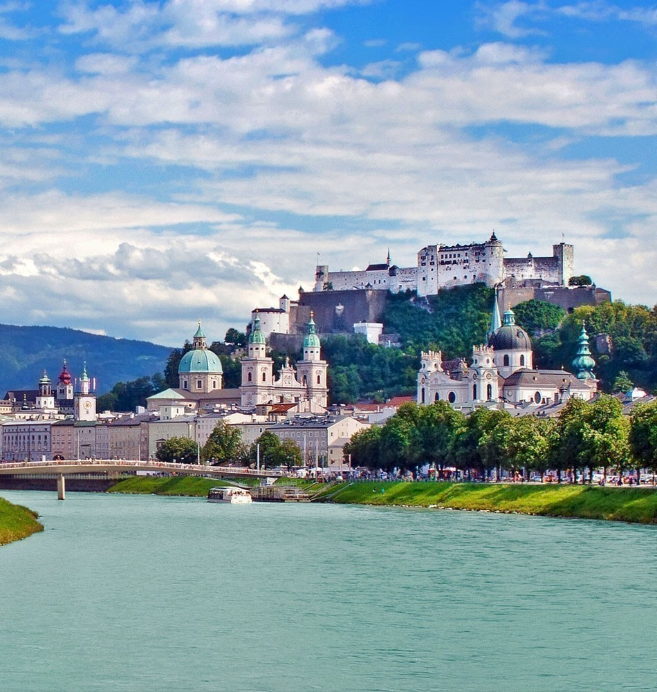 """Salzburg deserves the title of """"most romantic city"""" as much as any other location in Austria. 
