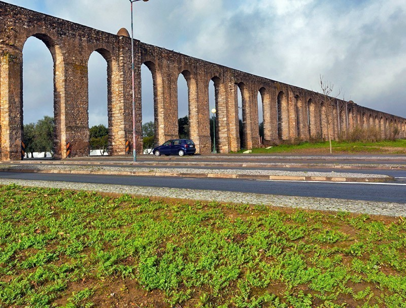 Ancient aqueduct in Evora | Portugal Travel Guide: What to Do and See