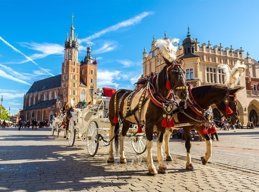 Rynek Glowny in Krakow one of the most famous and must-visit city squares in the world. | TOP 10 World-famous City Squares