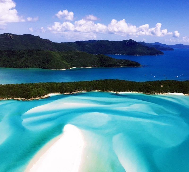 Amazing View of Whitehaven Beach, Queensland | Top 10 Australian Beaches That You Must Include in Your Bucket List