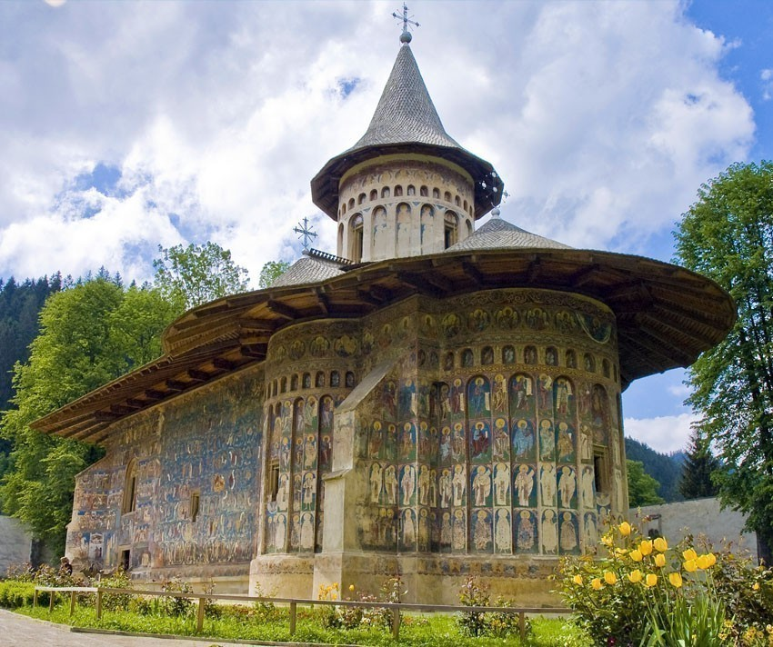 Voronet Monastery is one of the most popular cultural attractions in Bucovina, and is part of the UNESCO World Heritage Sites. | 5 Reasons Why Romania is the Country Every Traveler Needs to Visit