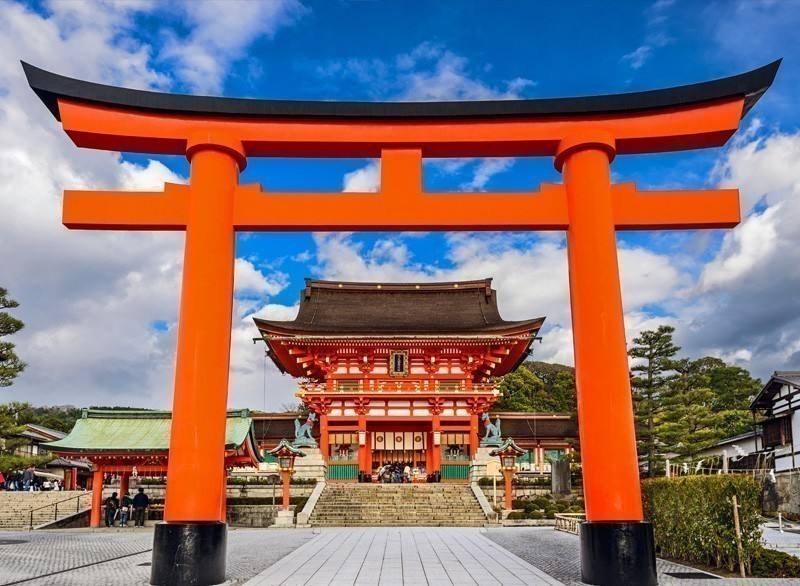 Fushimi Inari Taisha Shrine in Kyoto, Japan   10 Must-Visit Cities in Asia