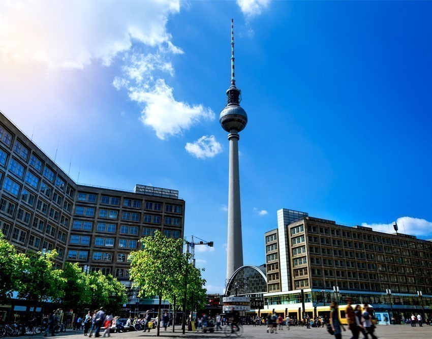 TV Tower (Fernsehturm) on Alexanderplatz square in Berlin | 10 Awesome Things to Do and See in Berlin