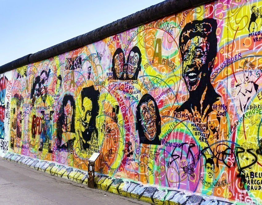 The East Side Gallery is the longest preserved stretch of the Berlin Wall | 10 Awesome Things to Do and See in Berlin