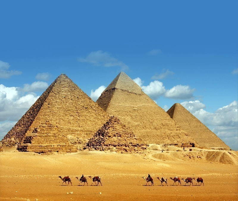 Great Pyramid of Giza | 10 Wonders Of The World You Have To Visit