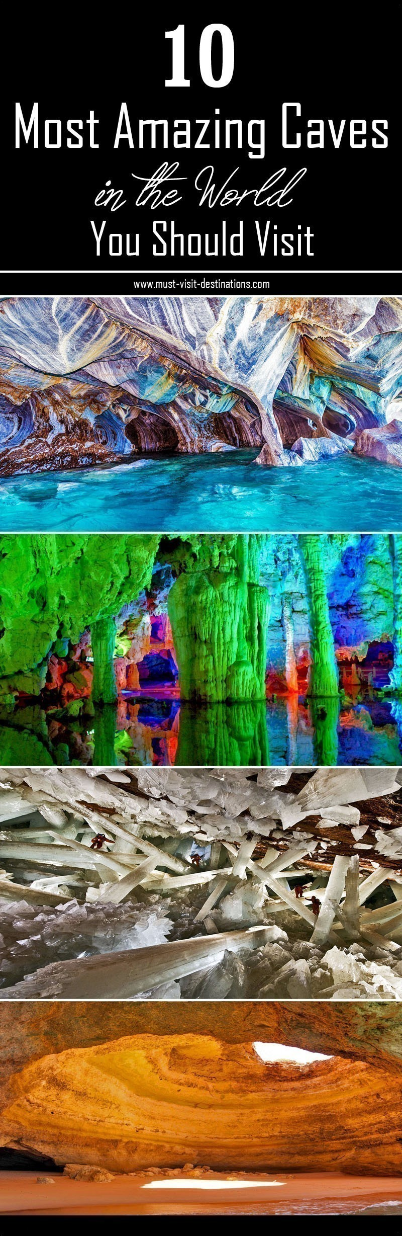 10 Most Amazing Caves in the World You Should Visit #travel #culture