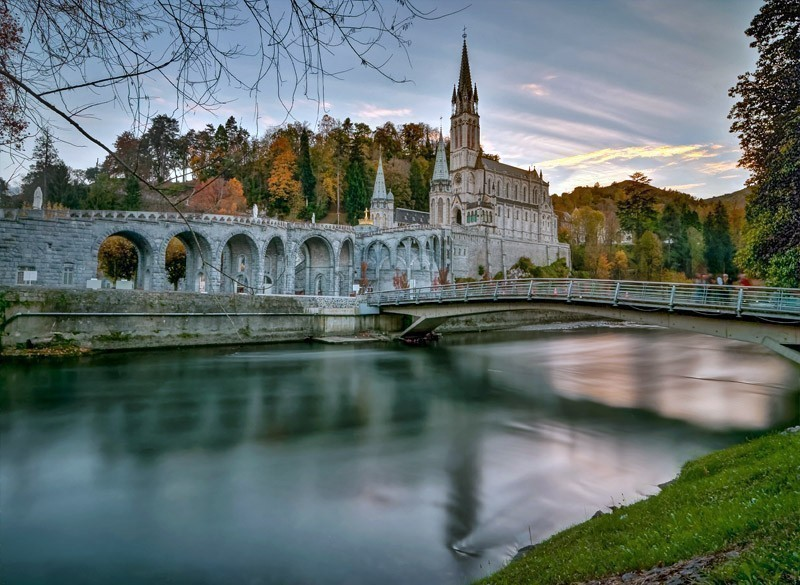 Amazing View of Lourdes Sanctuary | 10 Most Exquisite Places to Visit in France