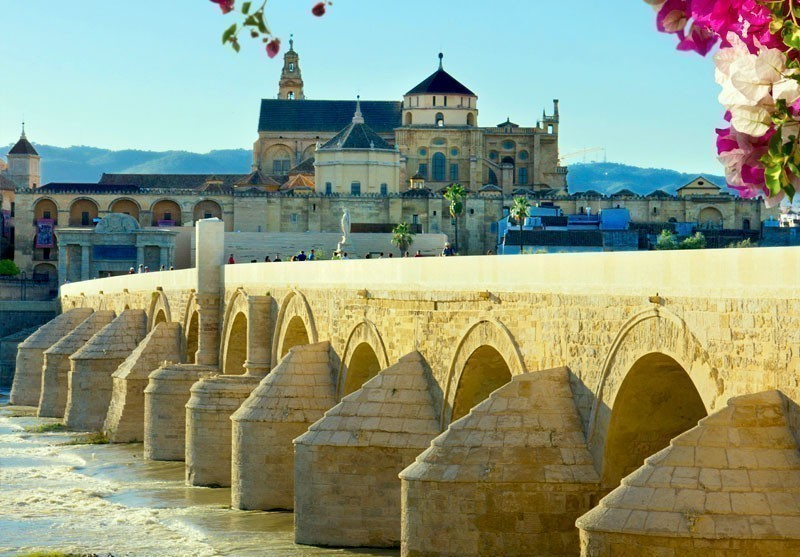 View of Old Catedral and Roman Bridge in Cordoba, Andalusia | 10 Best Places to Visit in Spain
