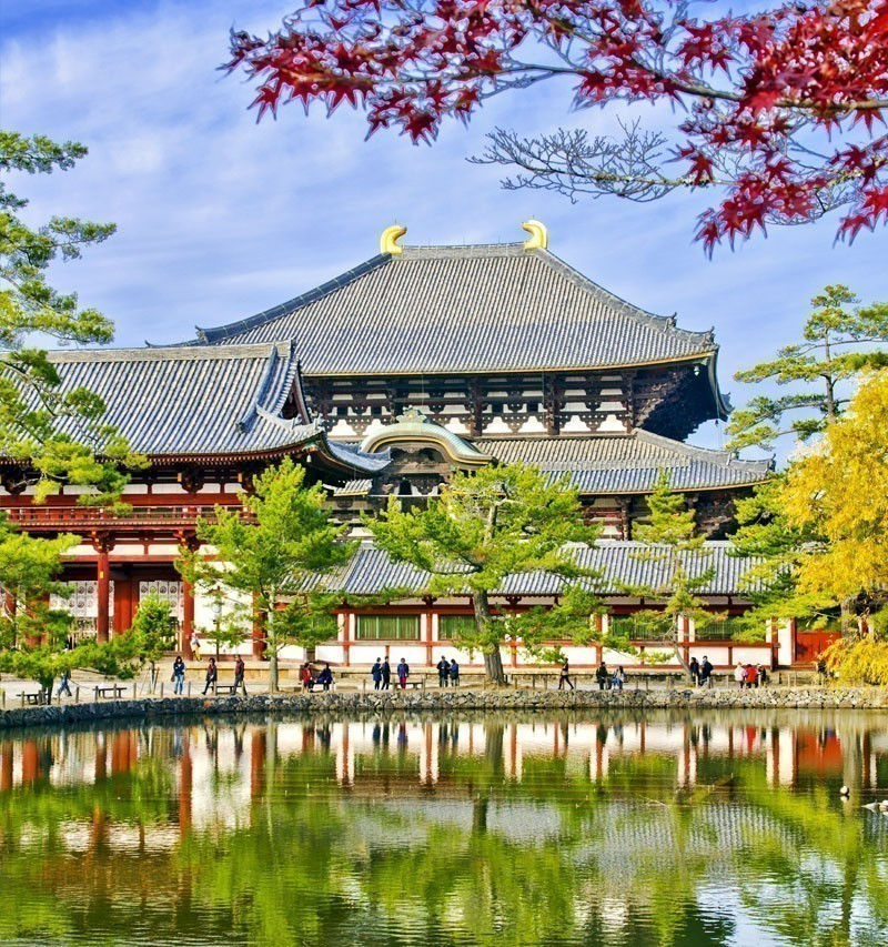 Amazing View of Todaiji Buddhist Temple in Nara | TOP 10 Tourist Attractions in Japan You Must Visit