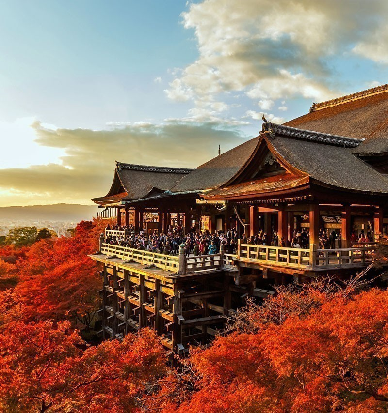 Kiyomizu-dera Temple in Kyoto | TOP 10 Tourist Attractions in Japan You Must Visit