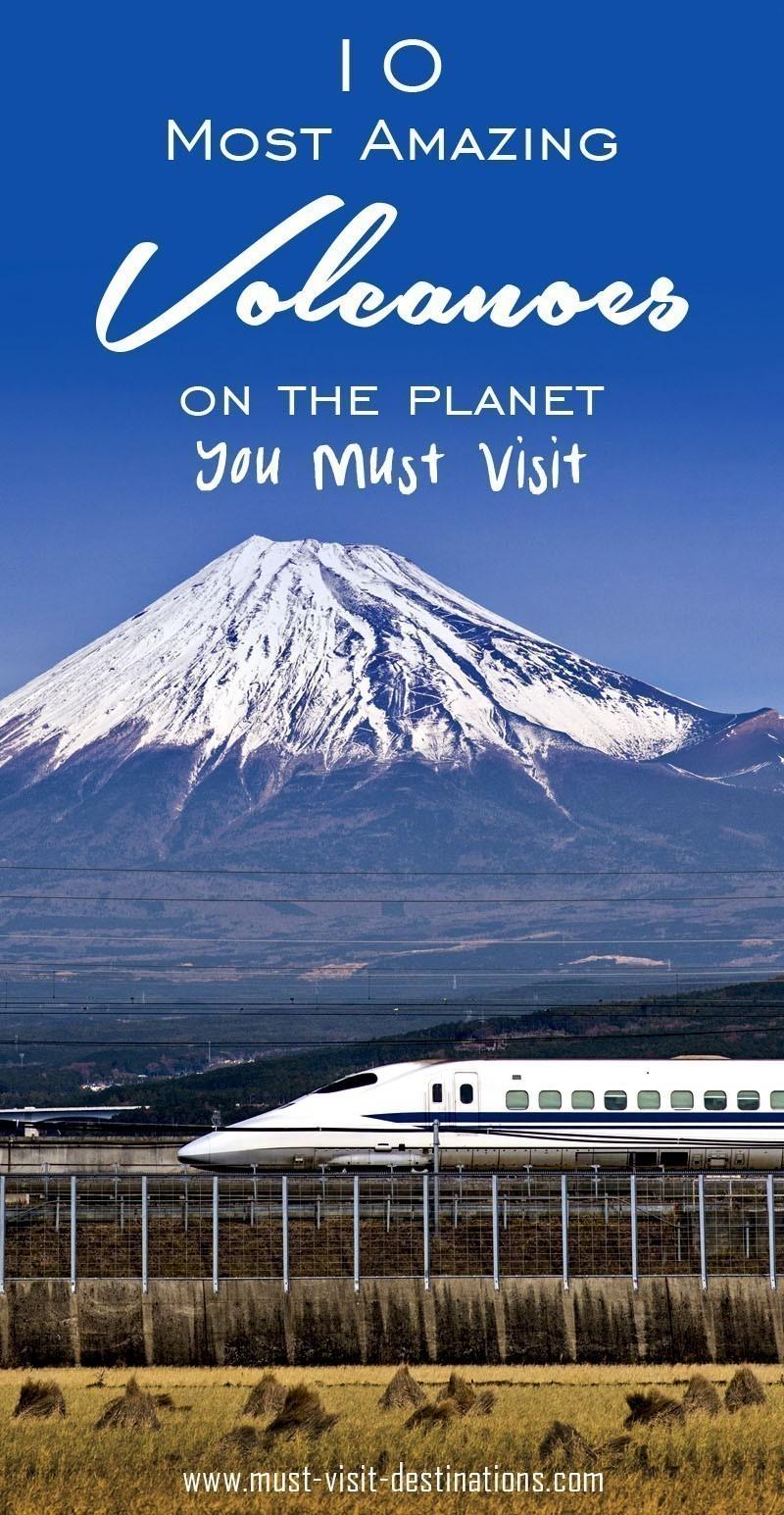 10 Most Amazing Volcanoes on the Planet #travel #adventure