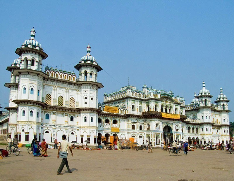 Janaki Temple in Janakpur | 10 Top-Rated Tourist Attractions in Nepal