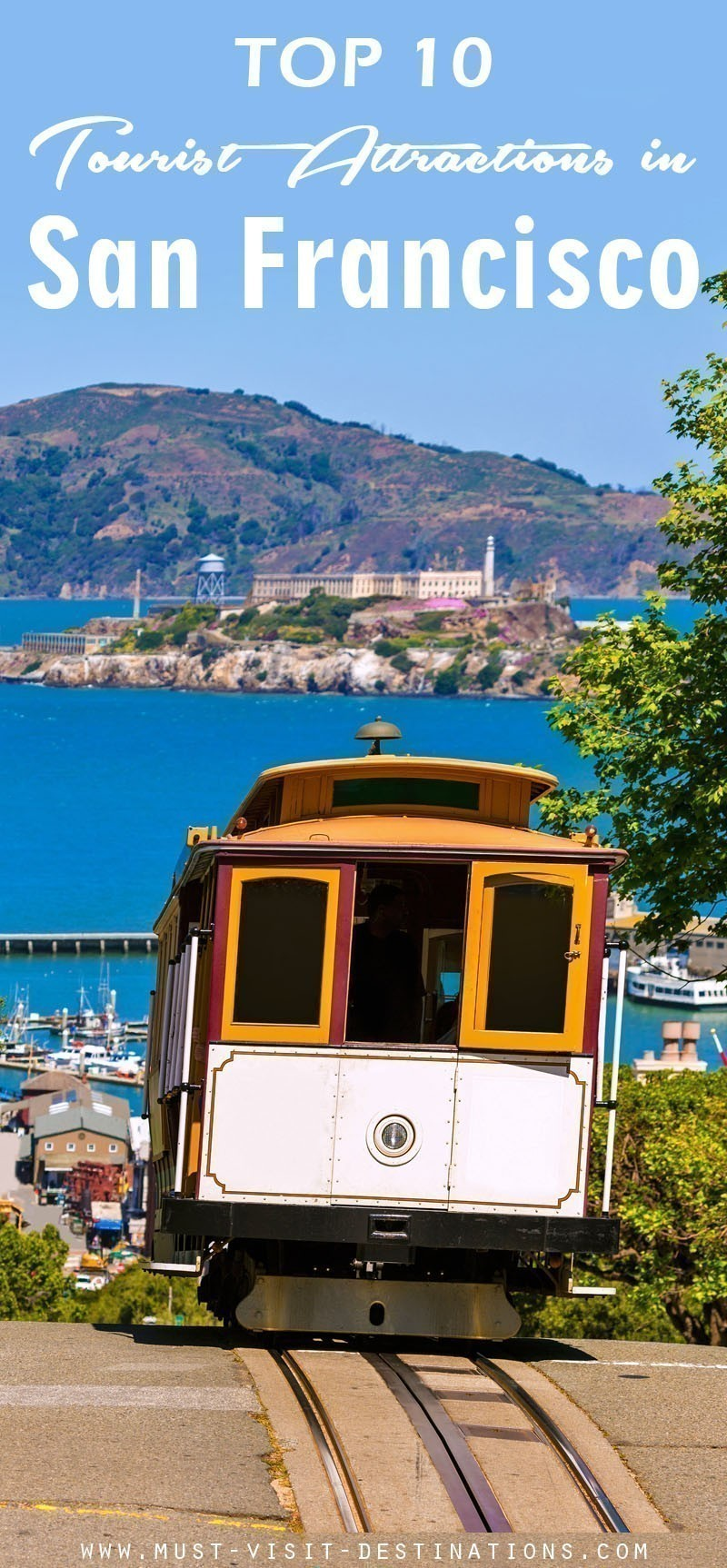 TOP 10 Tourist Attractions In San Francisco #travel #sanfrancisco