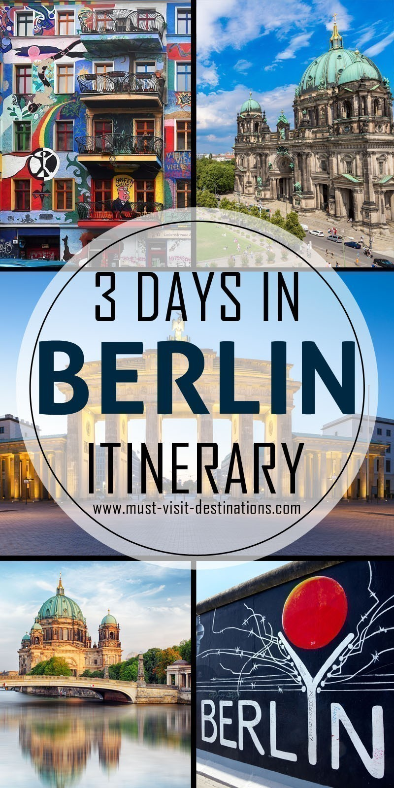 Only 3 days in Berlin? No problem! Check out this itinerary! #must-visit #destination