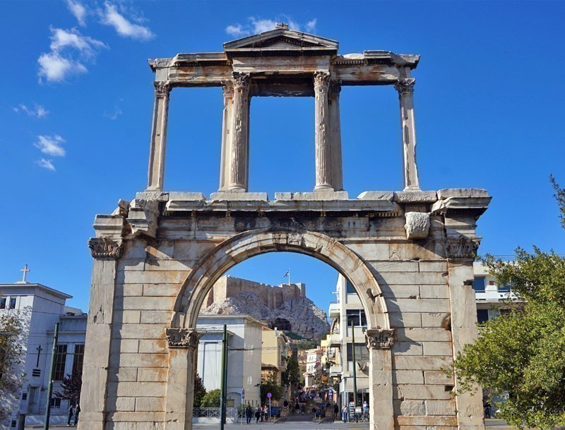 See the monumental Arch of Hadrian.    |   What to Do in Athens in 3 Days