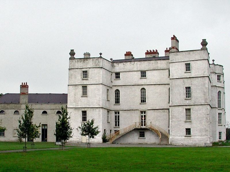 Beautiful Rathfarnham Castle in Ireland is open to tourists between the months of May and October   10 Most Amazing Castles in Ireland You Should Visit