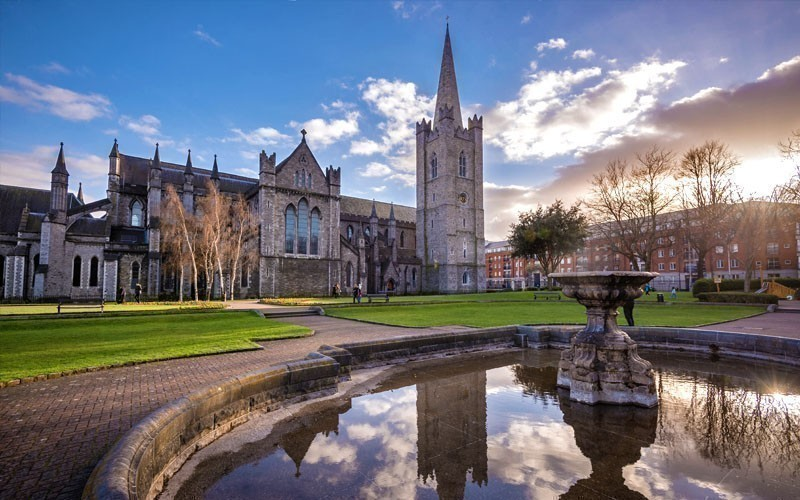 Take a walk to St. Patrick's Cathedral, which is located in the oldest part of the city – the Medieval Quarter | What to Do in Dublin in 3 Days