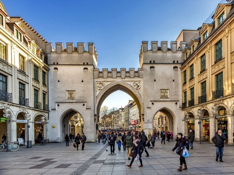 Karlstor – a Gothic gate of the demolished medieval fortifications, a famous tourist attraction in Munich, Germany | What to Do in Munich in 3 Days