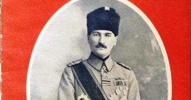 Atatürk, İtalyan Il Secolo Illustrato Dergisi Kapağında. (1920'ler)
