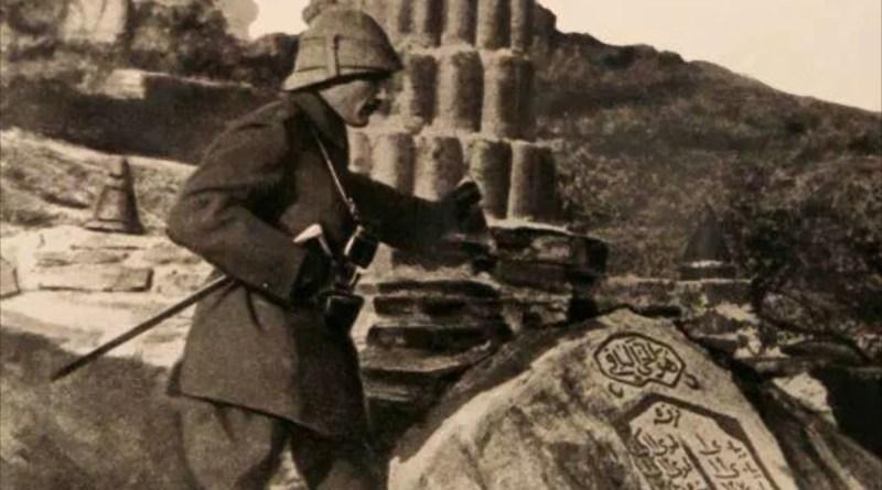 Musa Onbaşının Yakaladığı AvustralyaIı Atatürk'ün Huzurunda