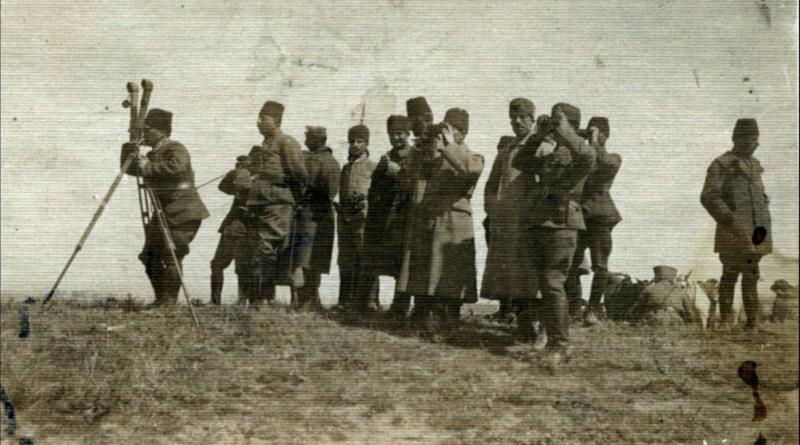 Atatürk'ün Nöbet Tutması (Muzaffer Kılıç'tan)