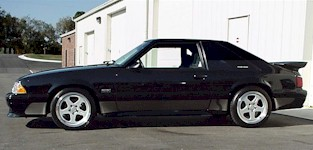 1992 Ford Mustang Saleen Body Styles