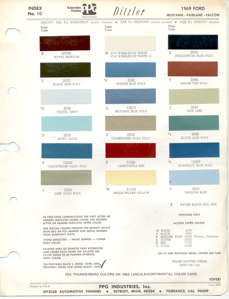 medium resolution of ford color chart jpg 784x1024 1967 ford f100 color chart