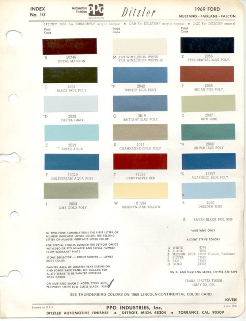 small resolution of ford color chart jpg 784x1024 1967 ford f100 color chart