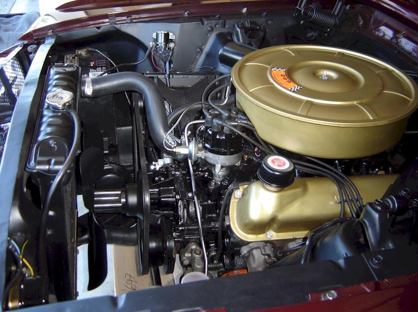 V8 Engine Wiring Diagram Full Vintage Burgundy 1964 Ford Mustang Hardtop