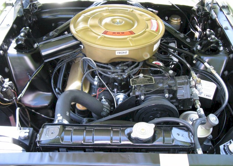 351 Ford Engine Wiring Diagram Honey Gold Green 1965 Ford Mustang Hardtop