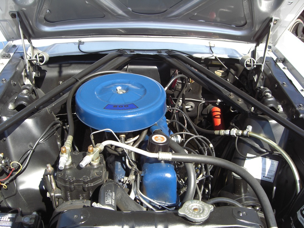 Ford  Cylinder Engine Diagram Silver Frost 1966 Ford Mustang Convertible