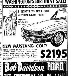 1966 mustang colt advertisement [ 800 x 1097 Pixel ]