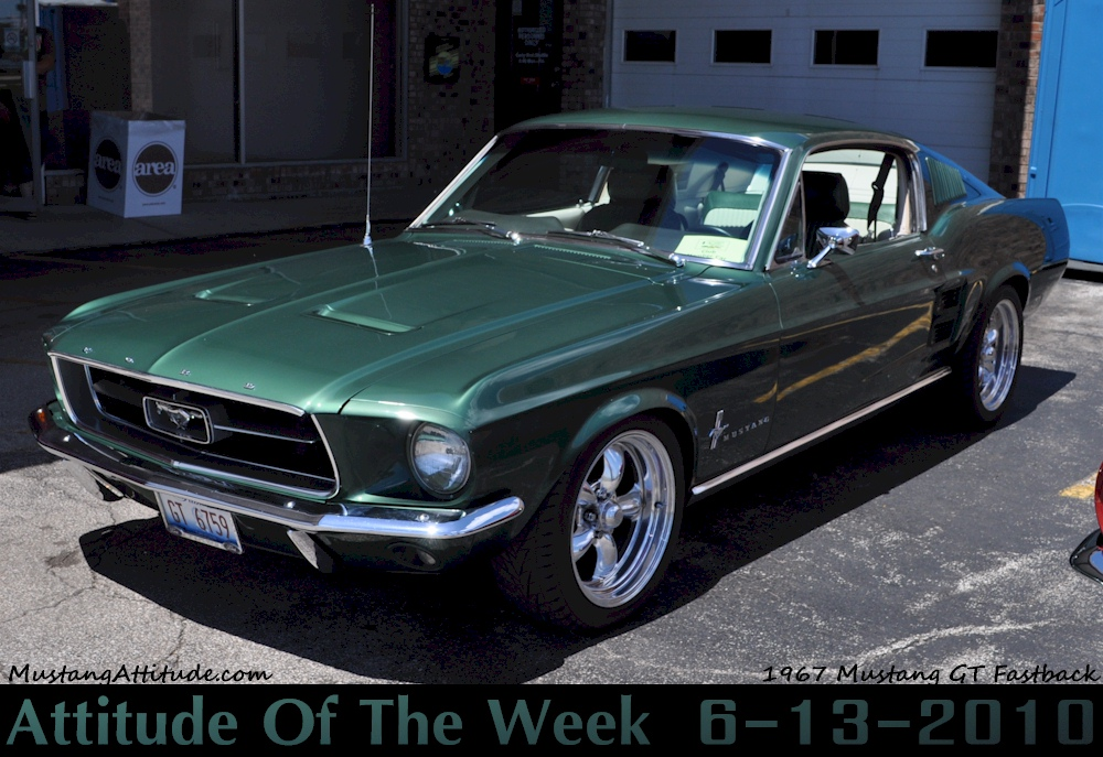1967 Mustang Paint Colors