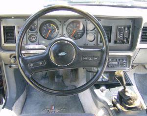 Black 1986 Ford Mustang GT Hatchback  MustangAttitude
