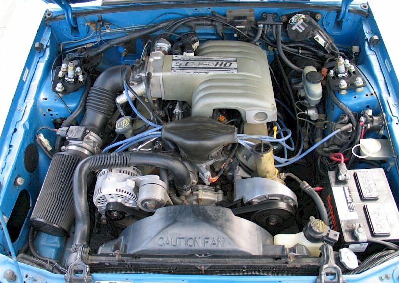 Bimini Blue 1992 Ford Mustang Hatchback MustangAttitude
