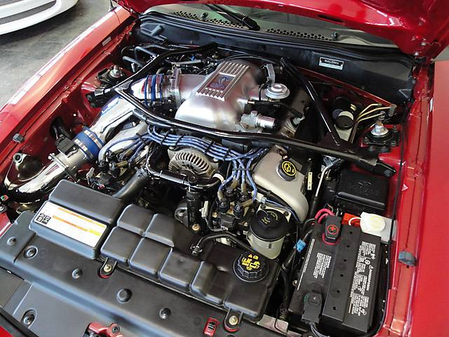 Mustang Engine Diagram Laser Red 1996 Saleen S281 Cobra Ford Mustang Convertible