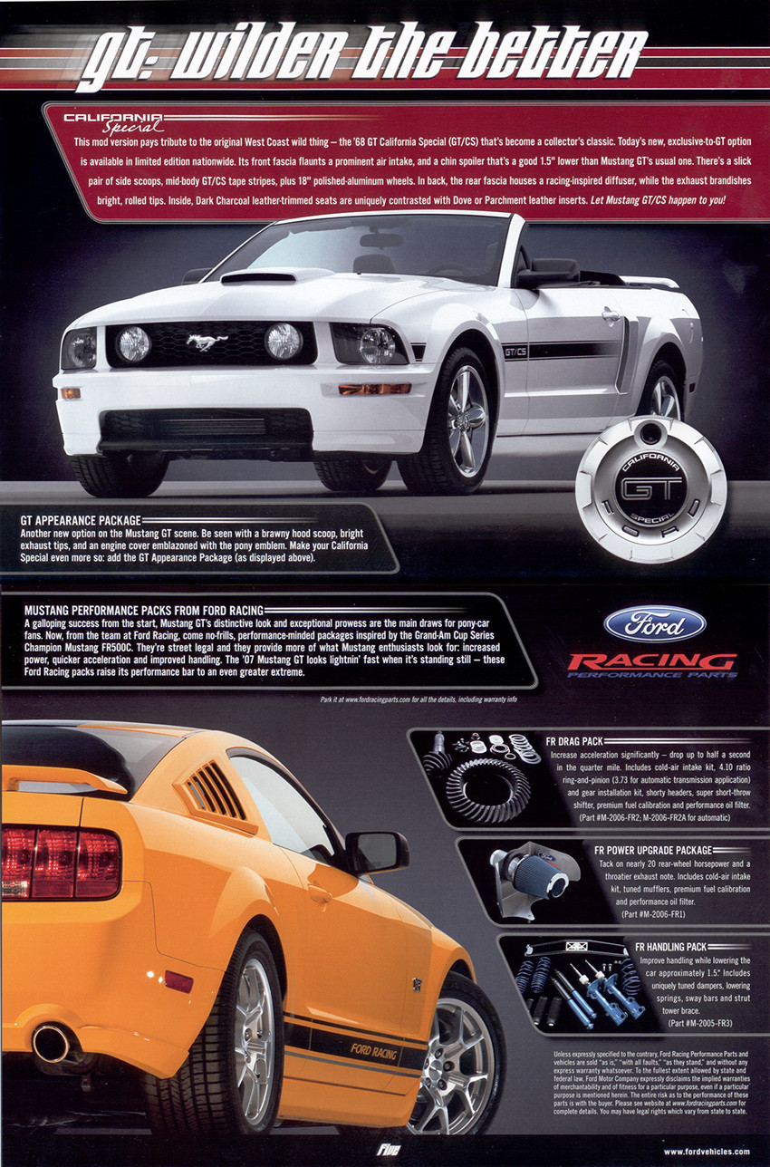 2007 Ford Mustang Hood : mustang, Mustang, MustangAttitude.com, Photo, Detail