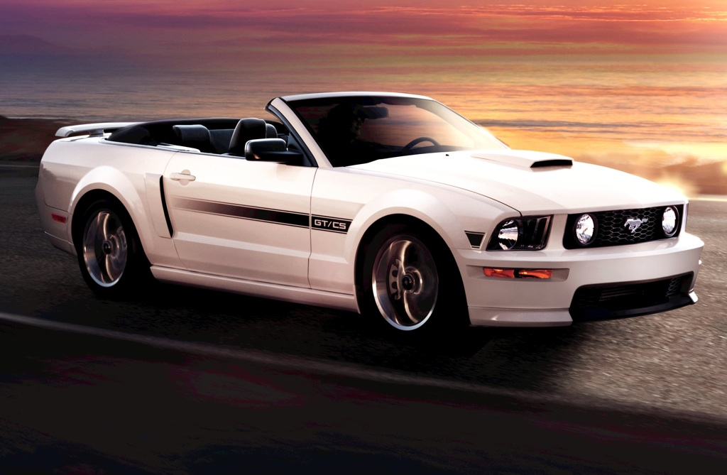 Performance White 2009 Ford Mustang GT California Special