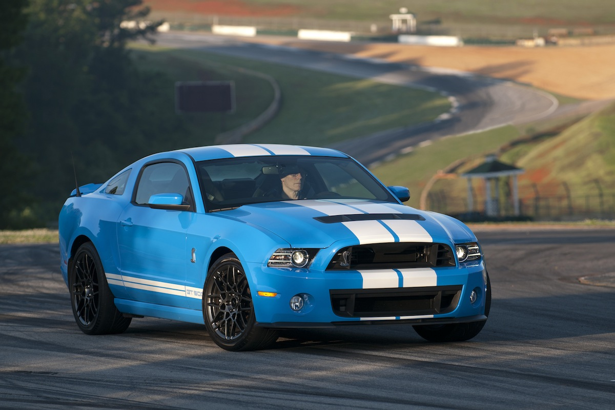 Grabber Blue 2013 Ford Mustang Shelby GT500 Coupe
