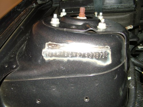 small resolution of ford explorer 1970 location of vin and engine numbers mustangforums com