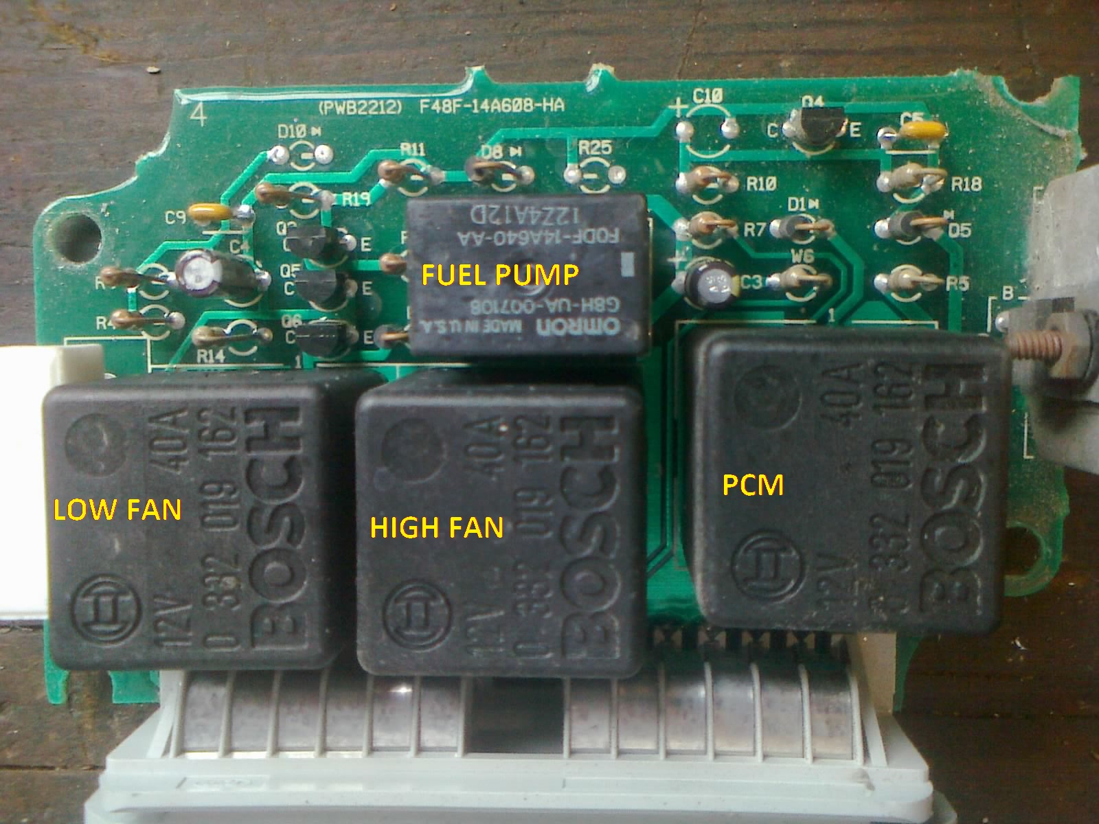 hight resolution of  1995 mustang gt ccrm repair image2197relays jpg