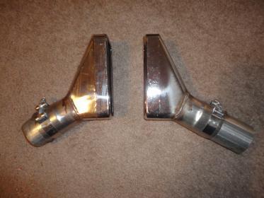 99 04 roush side exhaust tips