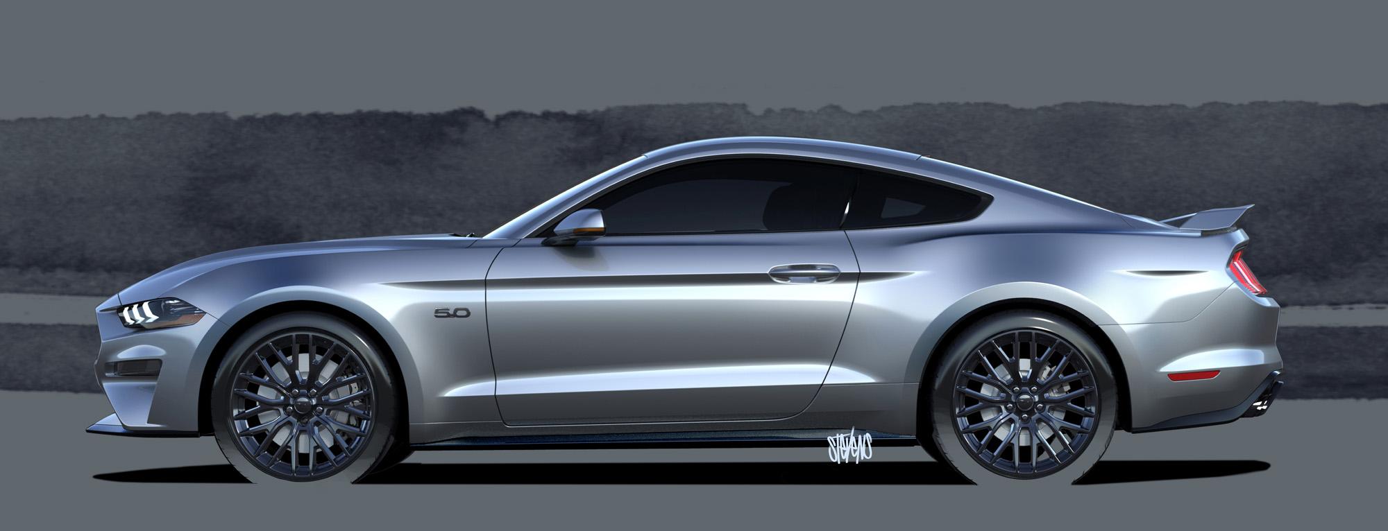 2015 Camaro Fuse Box 2018 Ford Mustang Design Sketch Mustangforums